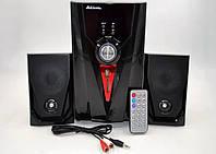Акустические система 2.1 AiLiang USB Радио FM F35DC-DT Мощность 2x3 Вт + 10 Вт Колонки + сабвуфер, фото 1