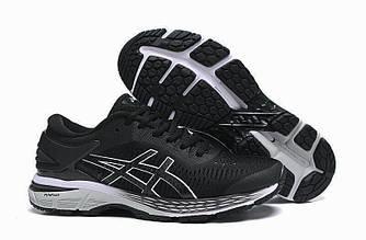 Кроссовки Asics Gel Kayano 25 Black White 1011A019-003 черные