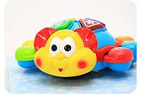 Детская Развивающая Музыкальная игрушка Добрый жук, обучает, двигается, звуковые и световые эффекты