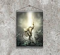 Плакат постер на бумаге Дьябло Diablo Дьявол