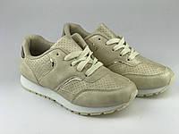 Кросівки для дівчаток бежеві LaVento