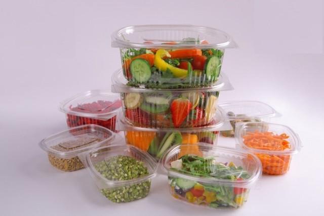 Блистерная упаковка для салатных групп