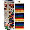 Настольная игра башня Vega (Вега) по цветам. Версия игры Дженга (Jenga) GVC-01