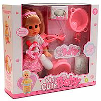 Кукла функциональная с аксессуарами, пьет, писает (8033A-6), фото 1