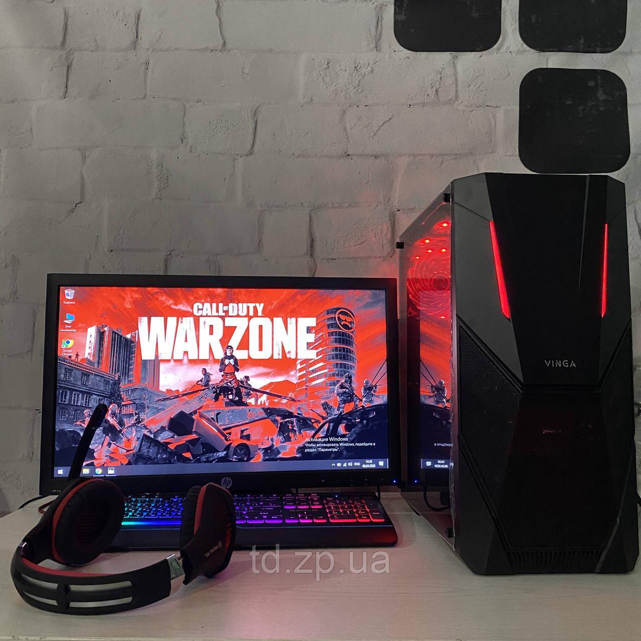 Игровой компьютер для стримов Intel core i7-2600 + GTX 1060 3Gb + RAM 8Gb + hdd 500gb
