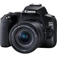 Цифровой фотоаппарат Canon EOS 250D kit 18-55 IS STM Black (3454C007)