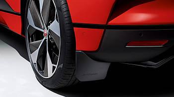 Брызговики задние для Jaguar I-Pace 2018-, оригинальные комплект 2 шт T4K1104