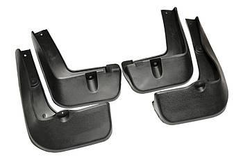 Брызговики полный комплект для Hyundai Santa Fe 2012-2018 комплект 4шт MF.HYSF2012