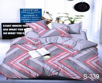 Комплект постельного белья Сатин ТAG ( полуторный )
