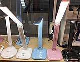 Настольный светодиодный светильник Feron DE1725 черный, фото 2