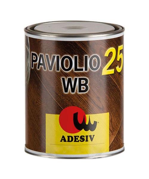 Масло с твердым воском PAVIOLIO 25 WB (1л). Для паркета и деревянного пола. Adesiv (Италия)