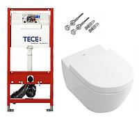 Инсталляция TECE с подвесным унитазом SUBWAY 2.0 + крышка Softclose, фото 1