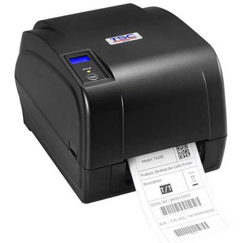 Принтер этикеток TSC TA210/TA310 (термотрансфер, риббон 300 м)