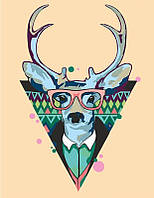 "Картина по номерам ""Cool deer"" ★★☆"