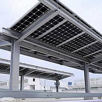 На Херсонщині збудували біфациальну сонячну електростанцію