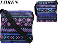 Сумка почтальонка Loren TN-1029 2294 разноцветная, фото 1