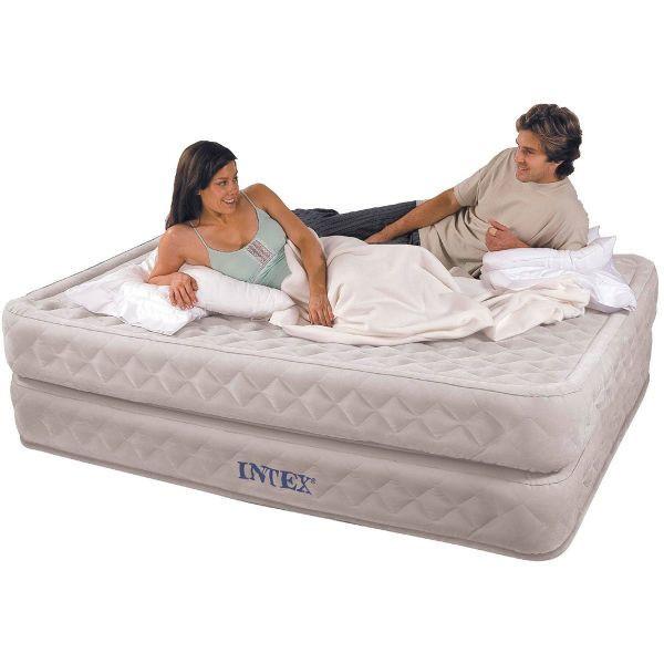 Надувная кровать Intex Supreme 66962 двухспальная 152 см х 203 см х 51 см