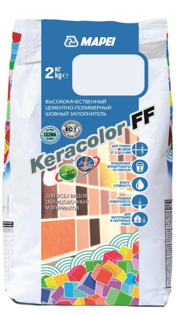 Цементна затирка (фуга) Кeracolor FF / 120 / Mapei, 2 кг