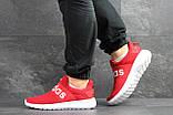 Мужские кроссовки Adidas красные, фото 3