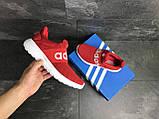 Мужские кроссовки Adidas красные, фото 6