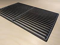 Чугунная решетка гриль для барбекю 520х320 мм, 17 прутьев 7,7 кг (арт. BBQ-001)