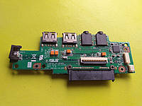 Доп плата Asus Eee PC 1101HA, б.у. оригинал.