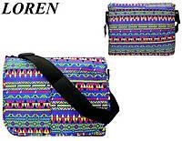 Сумка почтальонка Loren TN-3029 2327 разноцветная, фото 1