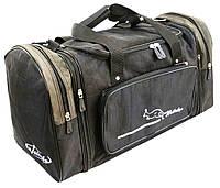 Дорожная сумка с расширением 39 л Wallaby 375-3 черная, фото 1