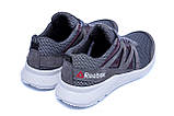 Мужские летние кроссовки сетка Reebok  Classic Grey (реплика), фото 6