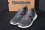 Мужские летние кроссовки сетка Reebok  Classic Grey (реплика), фото 9