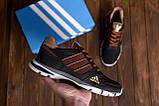 Мужские летние кроссовки сетка Adidas Tech Flex Brown (реплика), фото 7