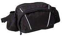 Большая поясная сумка Corvet WB3506-82 черная