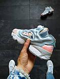 Кроссовки женские Reebok Insta Pump бирюзовые, фото 4