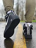Кроссовки  высокие натуральная кожа  Nike Air Force Найк Аир Форс (40,41,42,44,45), фото 4