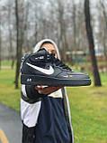 Кроссовки  высокие натуральная кожа  Nike Air Force Найк Аир Форс (40,41,42,44,45), фото 5
