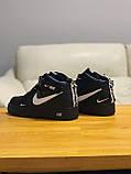Кроссовки  высокие натуральная кожа  Nike Air Force Найк Аир Форс (40,41,42,44,45), фото 6