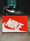 Кроссовки  высокие натуральная кожа  Nike Air Force Найк Аир Форс (40,41,42,44,45), фото 7