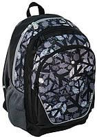 Молодежный рюкзак PASO 21L 15-367C черный/серый, фото 1