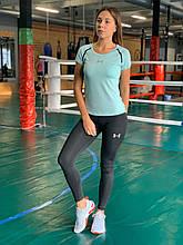 Комплект костюм спортивный компрессионный  женский Under Armour Андер Армор ⏩ (S,M,L,XL)