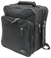 Мужская сумка-барсетка для города Wallaby 2437 черный, фото 1