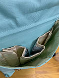 Сумка - рюкзак для мам Mommybaby/Мами бэйби  ->  бирюзовый цвет, фото 7