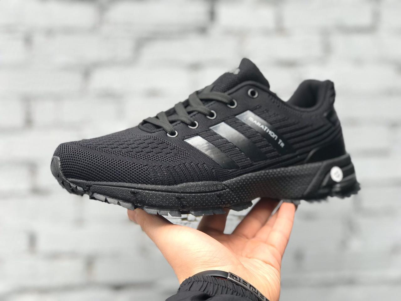 Мужские кроссовки Adidas Marathon TR черные