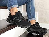 Мужские кроссовки Adidas Marathon TR черные, фото 2