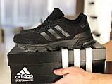 Мужские кроссовки Adidas Marathon TR черные, фото 4