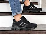 Мужские кроссовки Adidas Marathon TR черные, фото 5