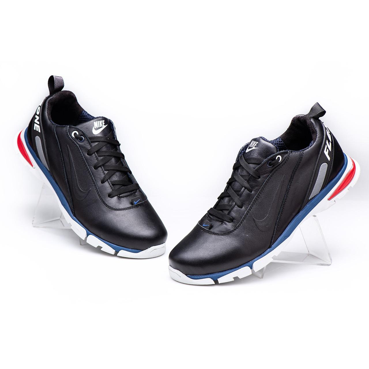 Мужские кожаные кроссовки Nike Model -N38 размеры 40 41 42 43 44 45