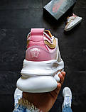 Кроссовки женские Versace Chain Reaction Розовые, фото 4
