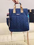 Сумка - рюкзак для мам Chicco Чико  ⏩ синий цвет, фото 7