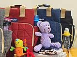 Сумка - рюкзак для мам Chicco Чико  ⏩ синий цвет, фото 8