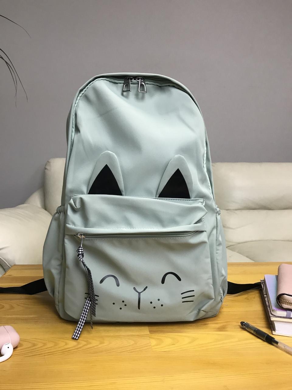 Рюкзак портфель женский оливковый (есть другие цвета)